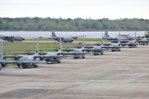 403rd Wing surge through the skies