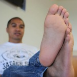 feet up square