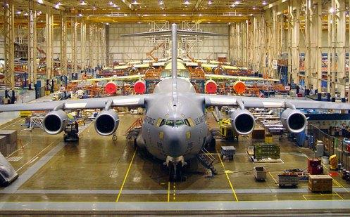 C-17 plant in Long Beach