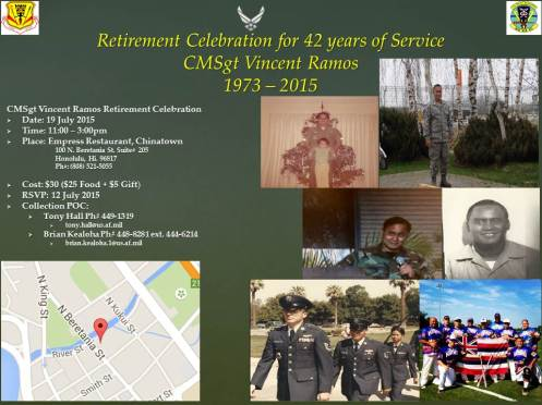 CMSgt Ramos Retirement Flyer