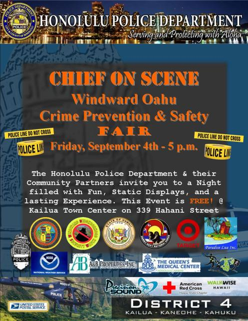 2015 Chief on Scene Crime Prevention Safety Fair Revised