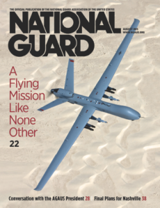 August 2015 NAtianal Guard cover
