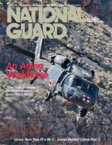 December 2015 National Guard cover