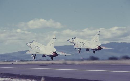 F102flying55-3377&55-3366