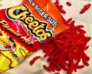 Flaming Hot Cheetos