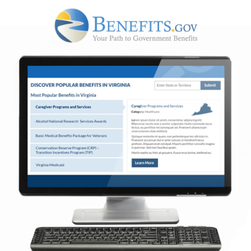 New homepage and a re designed compass enewsletter benefits gov