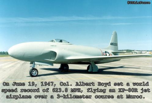 XP-80R - 1947