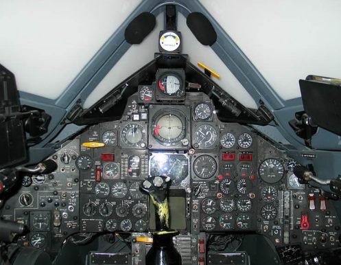 SR 71 Blackbird Cockpit