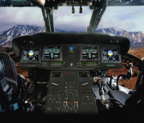 UH-60M cockpit