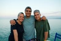 Siblings Arna, Koa, and Garro Johnson