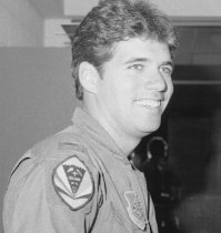 Rojo as a young lieutenant in the 199th Fighter Squadron