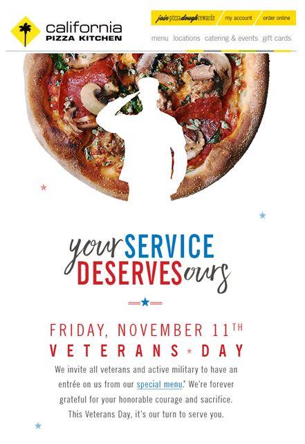 Enjoyable Military Discounts California Pizza Kitchen Retiree News Home Interior And Landscaping Staixmapetitesourisinfo