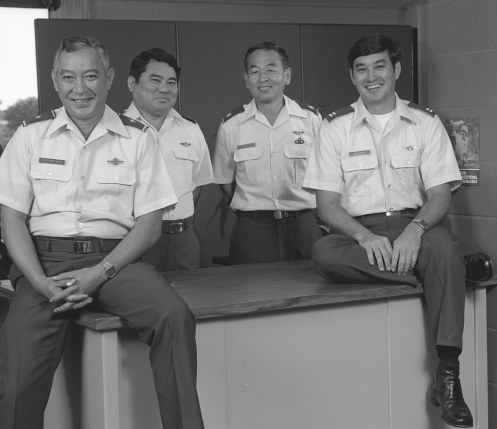 HQ HIANG Staff 1980s