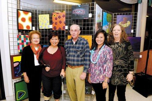 Sylvia Saiki, Tracey Jo Saiki, Dr. Dennis Crowley, Kara Kitazaki-Chun and Jan Mitchell