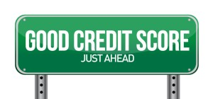 good credit scores just ahead