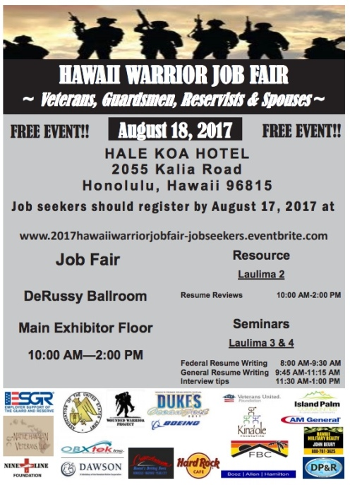 Warrior job fair