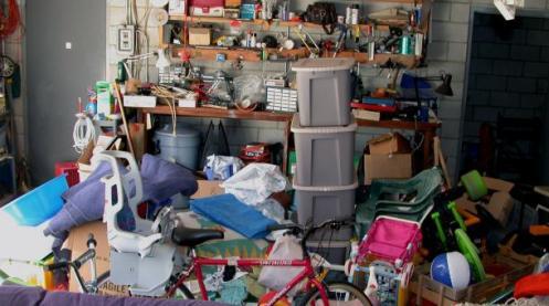 Clutter, storage