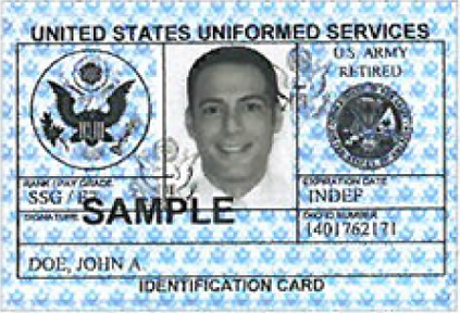 Renew Your Military Id Card Online At These Bases