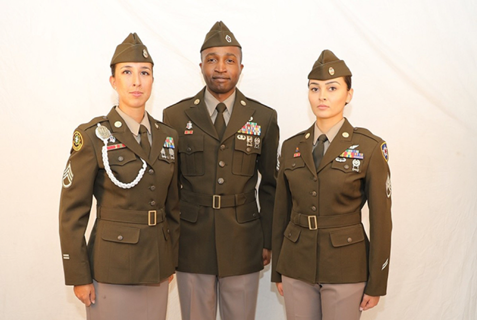Army Adopts Pinks And Greens As New Service Uniform