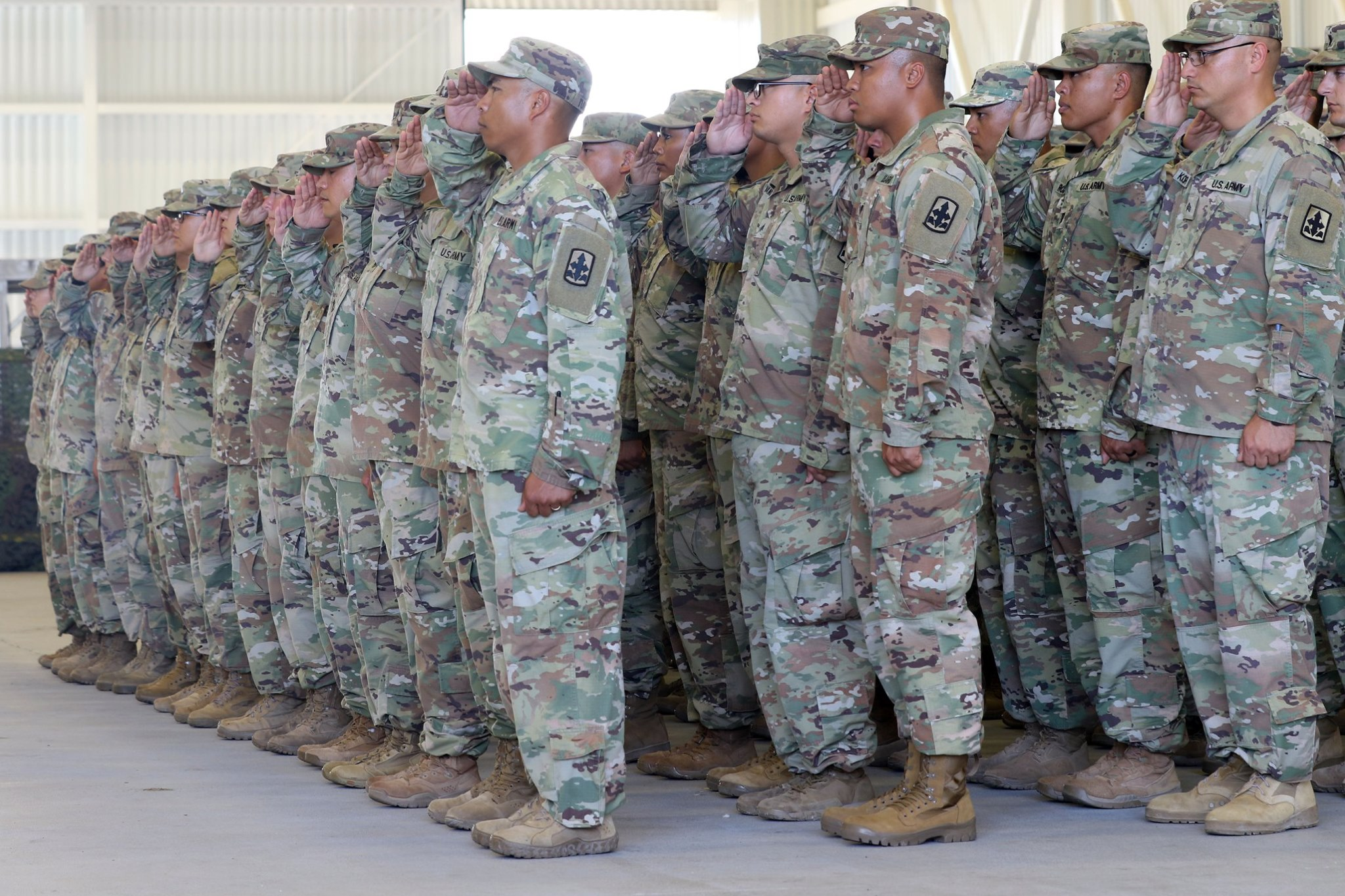 29 IBCT Welcome Home Ceremony